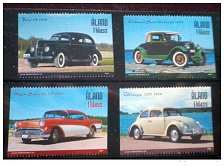 Buy ALAND -2005 Full complete MNH SET- VINTAGE CARS SET OF 4 STAMPS ON VINTAGE CARS