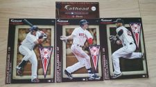 Buy 2012 FATHEAD TRADEABLES Boston Red Sox 3-Pack Featuring Dustin Pedroia
