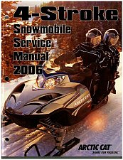 Buy 2006 Arctic Cat All 4-Stroke Snowmobile Factory Service Repair Manual CD