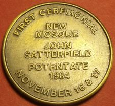 Buy First Ceremonial New Mosque Jacksonville Florida Solid Bronze Medallion~Free Shi
