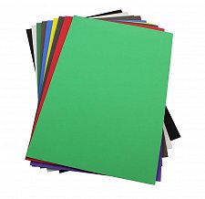 Buy Craft Foam Sheets--12 x 18 Inches -Asst. Colors Set 2 - 10 Sheets-2 MM Thick
