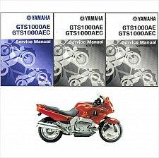 Buy 1993-1994-1995-1996 Yamaha GTS1000 Service & Parts Manual on a CD