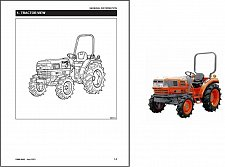 Buy Kioti DK45 / DK50 Tractor Service Manual on a CD