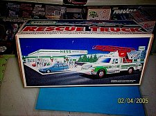 Buy Hess Rescue Truck 1994 MINT IN BOX
