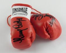 Buy Autographed Mini Boxing Gloves Sir Henry Cooper
