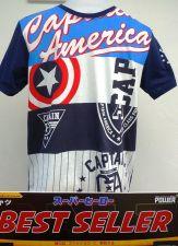 Buy Captain America White Cotton 100% T-Shirt The Avengers Super Hero Marvel