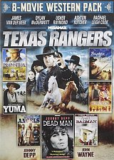 Buy 8movie DVD Texas Rangers,PROPOSITION,Dead Man,YUMA,Hooded Angels,Broken Fences