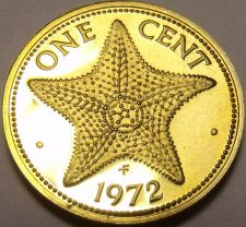 Buy Proof Bahamas 1972 Cent~Starfish~35,000 Minted~Free Shipping