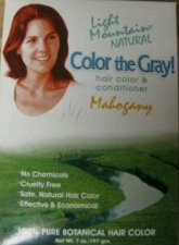Buy HENNA Mahogany Light Mountain Natural Color The Gray - 7 oz certified organic