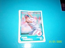 Buy 1988 Score Young Superstars series 1 baseball JOHN FARRELL #33 FREE SHIP