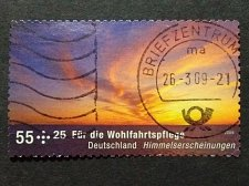 Buy Germany used 1v 2009 Welfare Stamps - Celestial Phenomena