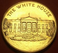 Buy Gem Unc The White House Bronze Presidential Inauguration Medallion~Free Shipping