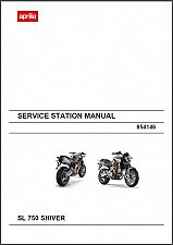 Buy 2009-2011 Aprilia SL 750 Shiver Service Repair Workshop Manual CD - SL750
