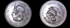 Buy 1948 Mexican 5 Peso World Silver Coin - Mexico