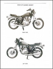Buy 80-84 Suzuki GS250T GS300L Service Repair Manual CD -- GS 250 T GS250 GS300 300