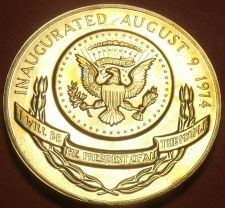 Buy Gem Unc Gerald R. Ford Presidential Bronze Inauguration Medallion~Free Shipping