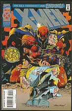 Buy LOGAN, X-men #41 Marvel Comics Cards attached to center Unopened Andy Kubert1995