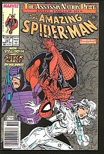 Buy Amazing Spider-man #321 Marvel Comics 1st series ever McFarlane 1989 Micheline
