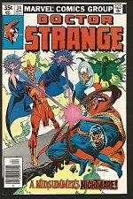 Buy Dr. Strange #34 SUTTON / RUSSELL Marvel Comics 1979 VF wow
