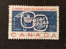 Buy Canada Used 1v Stamp Used #1131 – 1959 4c St. Lawrence Seaway