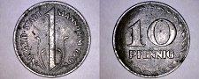 Buy 1919 German 10 Pfennig Kriegsgeld World Coin - Mannheim Germany Notgeld