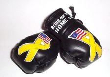 Buy Support our Troops Mini Boxing Gloves.