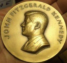 Buy Massive 70mm Gem Unc John F Kennedy Solid Bronze Inauguration Medallion~Free Shi