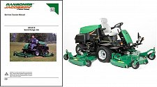 Buy Ransomes Jacobsen HR 6010 Riding Lawn Mower Service Manual on a CD - HR6010