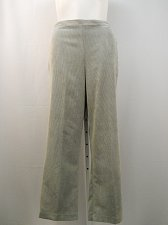 Buy Corduroy Casual Pants Size 20 ALFRED DUNNER Grey Medium Proportioned Elastic