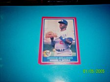 Buy 1987 Fleer REVCO Hottest Stars #42 REGGIE WILLIAMS FREE SHIPPING