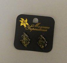 Buy Women Fashion Huggie Earrings Silver Tones MOGHBLE Leverback Fastener