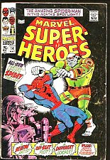 Buy MARVEL SUPER-HEROES 14 Spider-man BIG SZ Black Knight, Submariner HumanTorch1968