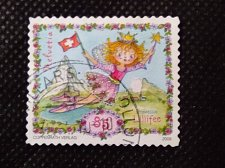 Buy S witzerland 1V USED STAMP 2009 Princess Lillifee Mi 2121 Comics