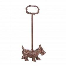 Buy *17507U - Cast Iron Terrier Doggy Door Stopper With Handle