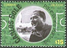Buy URUGUAY 1 V STAMP SOCCER URUGUAY 2005 - CARLOS SOLE(SOCCER COMMENTATOR)