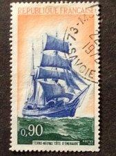 """Buy France Mi 1792 1v used stamp Newfoundland sailer """"Côte d'Emeraude""""Sailing Ship"""