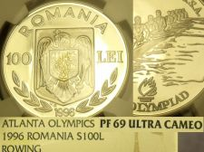 Buy Romania 1996 100 Lei NGC Proof 69 Ultra Cameo~Highest graded~10k Minted~Fr/Ship