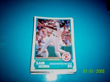 Buy 1988 Score Young Superstars series 1 baseball card SAM HORN #3 FREE SHIP