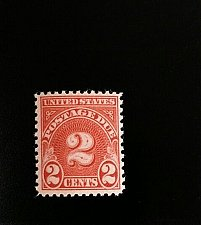 Buy 1931 2c Postage Due, Carmine Scott J81 Mint F/VF NH