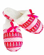 Buy SIZE 5-6 9-10 Women Slippers With Satin Bow IRIS Blue Pink Anti-slip Rubber Sole