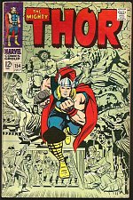 Buy THOR #154 JACK KIRBY STAN LEE Marvel Comics 1968 Colletta 1st Mangog