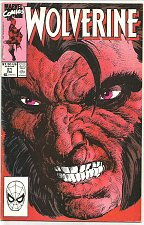 Buy Wolverine #21 Marvel Comics 1990 VF- 1st series after mini series
