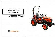 Buy Kioti CK22 / CK22H Tractor Repair Service Workshop Manual CD -- CK 22