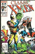 Buy WOLVERINE: Classic X-men #30 LOGAN 1989 Marvel Comics VF+/NM-