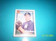 Buy 1991 Topps Traded rookie card scott kamieniecki yankees #66T mint free ship