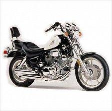 Buy 1986-1999 Yamaha Virago 1100 (XV1100) Service & Parts Manual on a CD