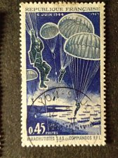 Buy France 1v used 1969 stamp MI 1674 commandos and paratroopers FFL