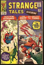 Buy Strange Tales #133 Dr. Strange: Ditko, TORCH THING by POWELL 1965 Stan Lee