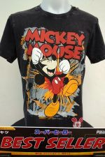 Buy Mickey mouse & Friends Black Cotton T-Shirt Super Hero Disney Free Shipping