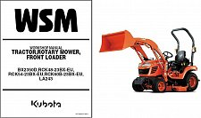 Buy Kubota BX2350D Tractor Mower Loader Service Repair Workshop Manual CD BX 2350 D